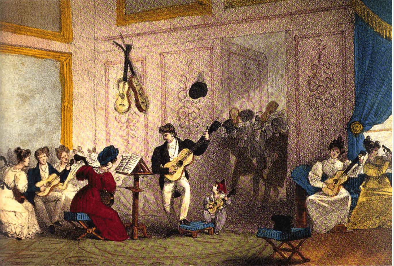 Konzertante Gitarrenmusik I Klassischer Gitarrenunterricht